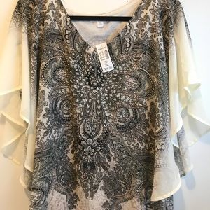 Xl Dress barn printed top